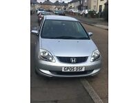 Honda Civic Silver in good condition Nice tyres,stereo,mileage 118k,gives good mileage