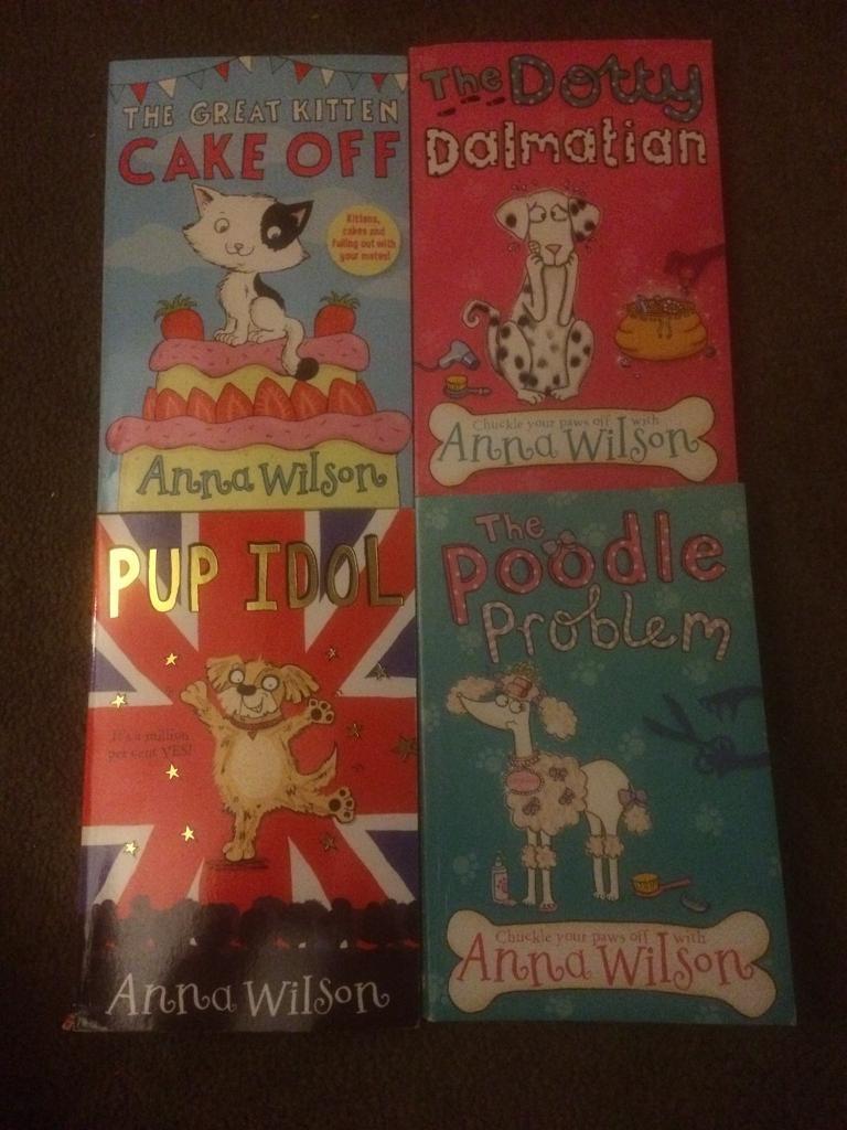 4x Anna Wilson Books