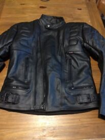 Brand new men's leather jacket