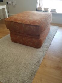 Vintage Style Footstool – Very Good Condition – £12
