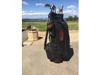Golf bag and Irons for sale