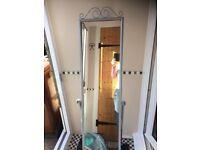 Full length free standing mirror