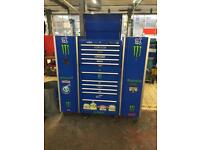 Tool Marque Tool Box with Side Cabinets