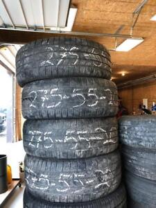 Used tires 275/55 R20
