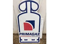 Vintage Double sided tin sign