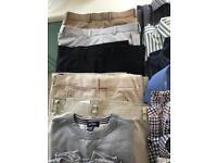 Men's clothing (£4 for each item)