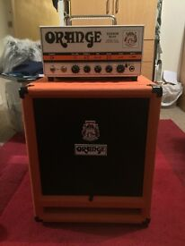 Orange Terror Bass 500 Head and SP212 Orange Isobaric Bass Cab