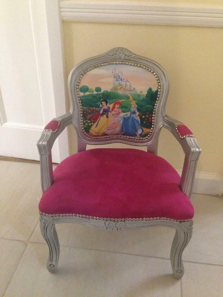 Excellent Disney Princess Kids Chair French Style Kids Chair C In Acocks Green West Midlands Gumtree Creativecarmelina Interior Chair Design Creativecarmelinacom