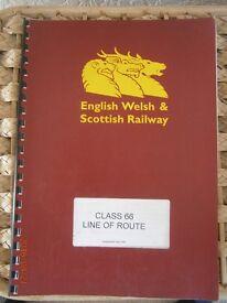 E.W.S Class 66 Line Of Route Maintenance Manual
