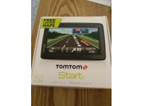 TomTom device with UK and Eourope maps and free updates