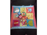 Baby toys joblot & play mat