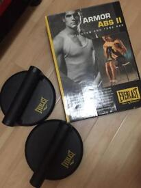 Everlast Abs trainer and Push up rotation pads