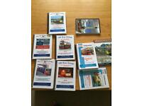 Collection of approximately 300 transport books. Trains, boats ,trucks ,ferries