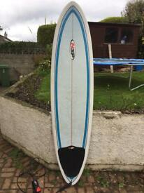 NSP 7ft surfboard (leash included)