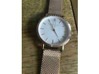 Rosefield rose gold watch *new*