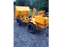 thwaites dumper 1.5 ton