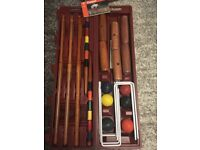Franklin Expert 6 player croquet set, has never been used