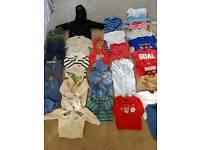 Large boys clothes bundle age 6-9 months mostly next