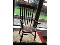 Low Carver chair