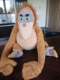 Disneys Jungle Book King Louie soft toy
