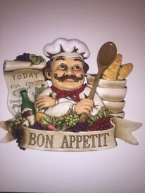 Chef/kitchen wall art