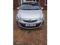 2012 5 Door Silver 1.4 Petrol Automatic Vauxhall Corsa Full MOT Full Service History