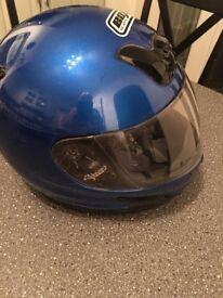 Blue Crash Helmet