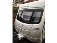 lunar clubman ck 2010 2 berth motor mover new tyres alde central heating
