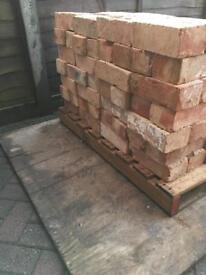 400+ reclaimed bricks