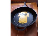 13 1/4 inch cast iron skillet by lodge