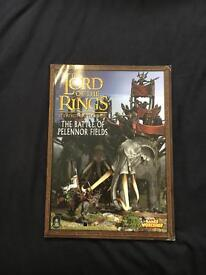 Lord of the rings The battle of Pelennor fields strategy game