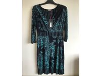 Green Per Una (M and S) dress new with tag. Size 12