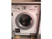 Brand new intergrated Washing machine dryer AEG