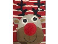 Christmas Rudolf Top - Next size 2 - 3 years