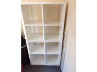 Ikea Kallax 8 units white shelves