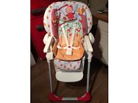 Chicco Polly 3 in 1 Highchair, Little Red Riding Hood
