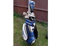 Golf Clubs, Ping G30, Callaway XR Pro irons, Dunlop St, Mizuno tour bag, GW, LW Golf Clubs Set