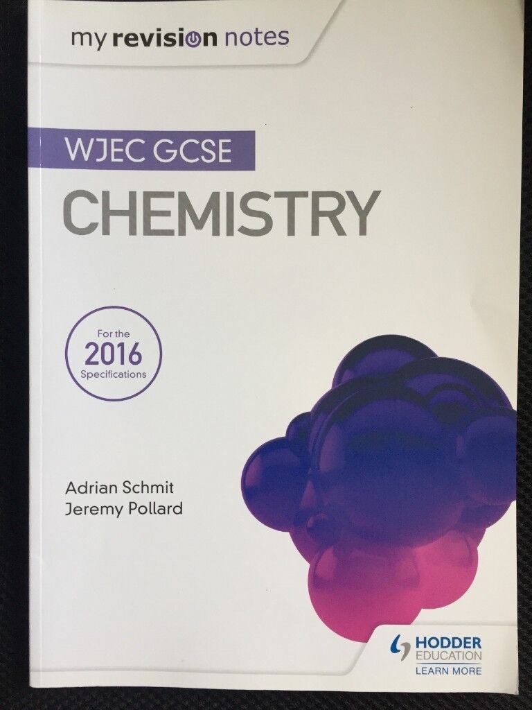 WJEC GCSE Chemistry textbook/revision guide