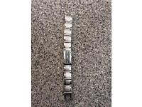 Ladies solid stainless steel DKNY watch