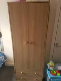 Matching Wardrobe and bedside table for sale!
