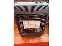 Mobile Gas heater with calor gas bottle