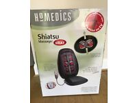 Homedics shiatsu massager to go onto chair barely used £25 in box for collection