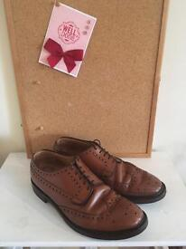 Loake brogues - made in England - style: Braemar
