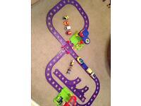 Large Happyland Rail Set