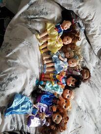 Disney Dolls. perfect condition