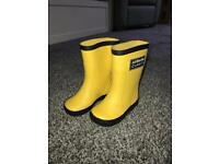 Toddler wellies size 3