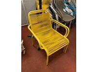 ipanema garden chair - Yellow