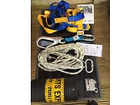 Health and safety regulation ladder kit body harness / tree surgeon/ working at heights