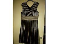 Black/Gold Party Dress