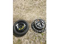 Vauxhall Vectra C spare wheel